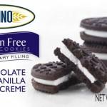 Gluten-Free Diva: Glutino Gluten Free Dream Cookies: Chocolate Vanilla Creme