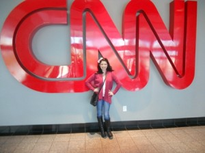 christine and cnn sign
