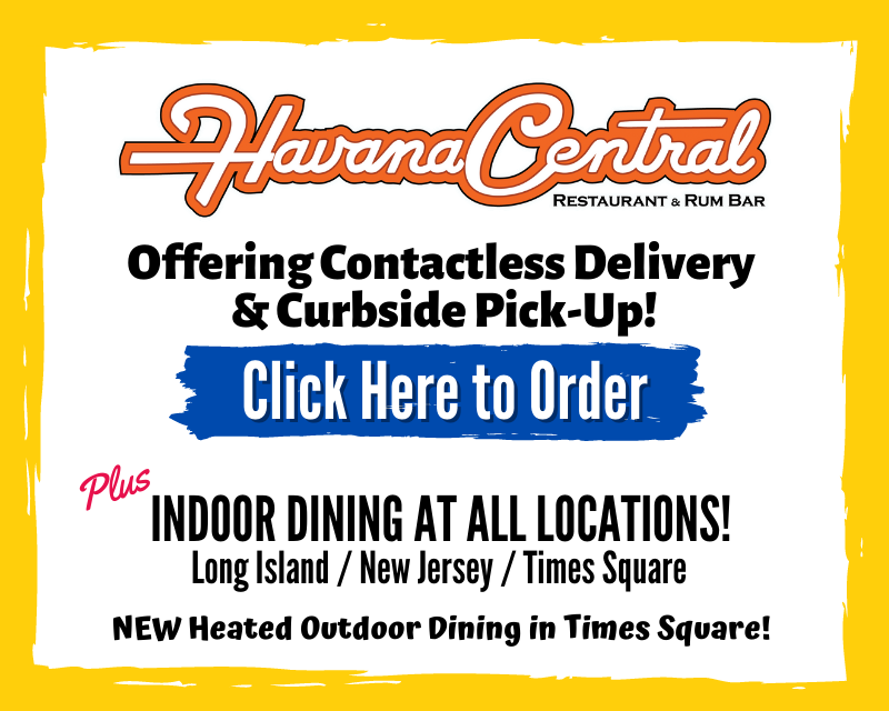 Havana Central offers dine-in, pick-up, delivery & catering of your favorite Cuban cuisine.