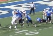 Anthone Taylor. Buffalo Bulls running back, runs in for the game winning touchdown.