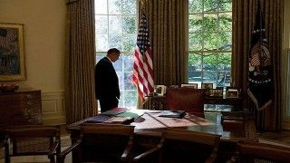 Pondering next move: Obama must contend with an increasingly impatient country to act over Syria. Flickr/Peter Stevens
