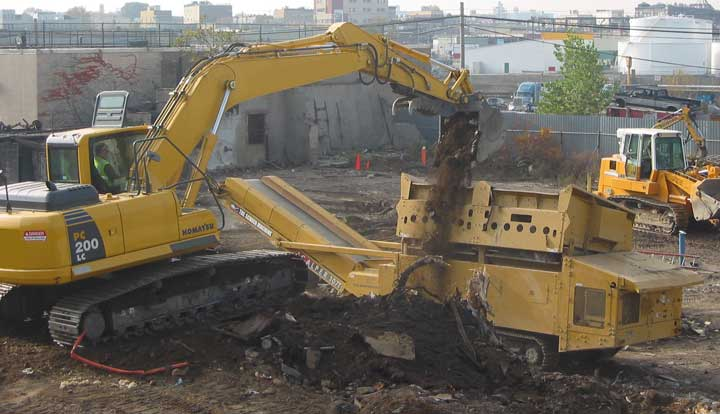 X Screen Loader Brownfield Cleanup