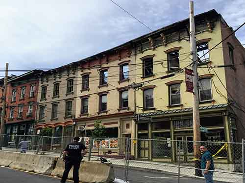 Wappingers Falls Fire Disrupts Main Street Commercial District