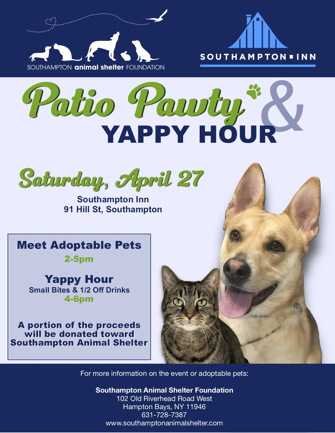 Patio Pawty & Yappy Hour
