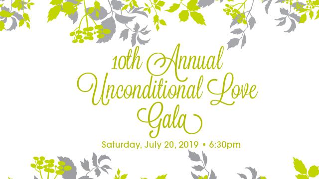 10th Annual Unconditional Love Gala