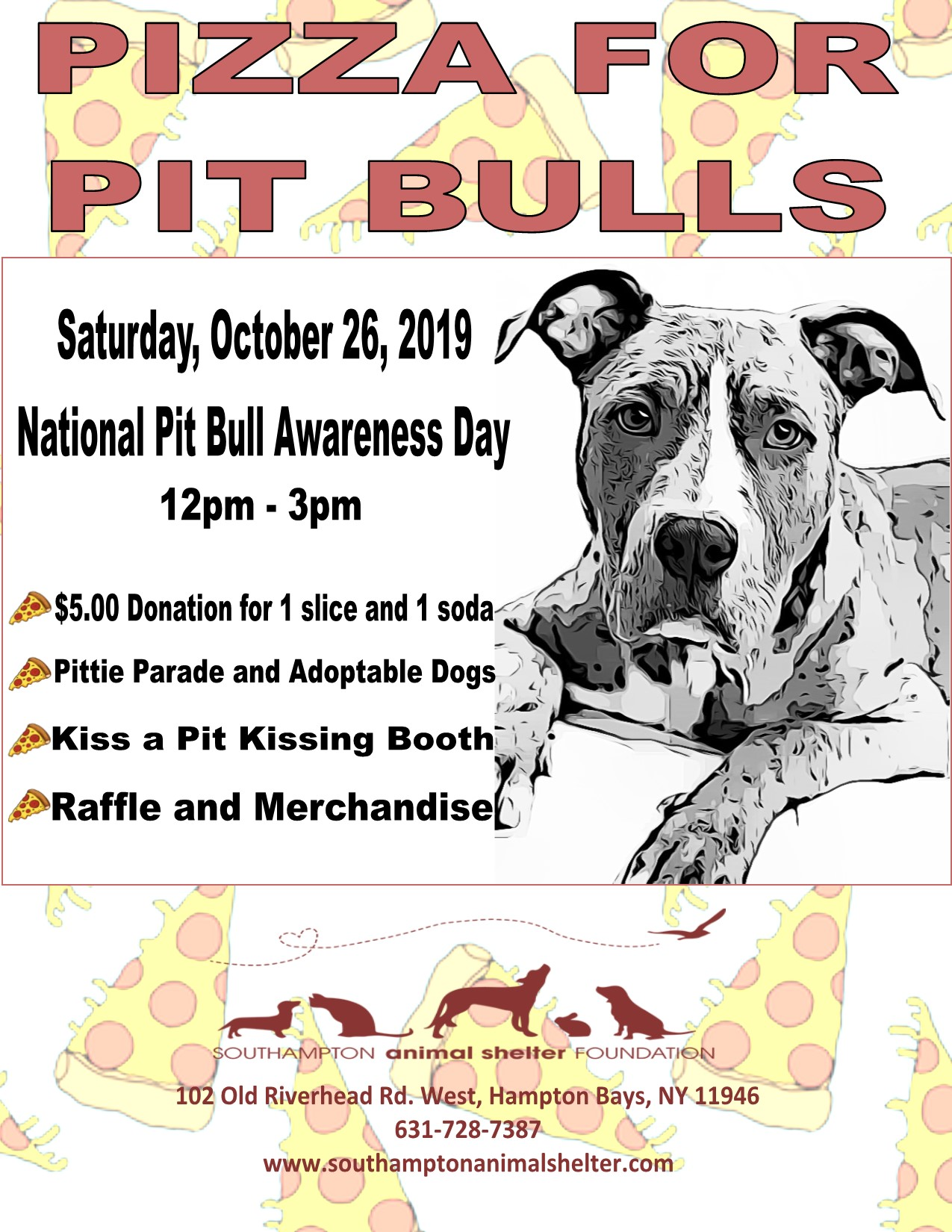 Pizza for Pit Bulls