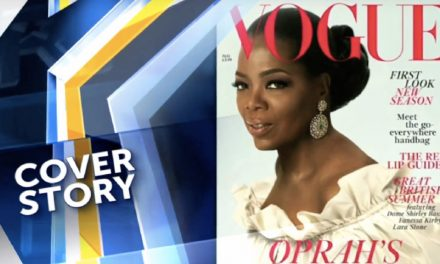 Oprah's British Vogue Cover Story