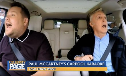 Corden and Paul McCartney Carpool Karaoke
