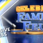 On the Set of Celebrity Family Feud