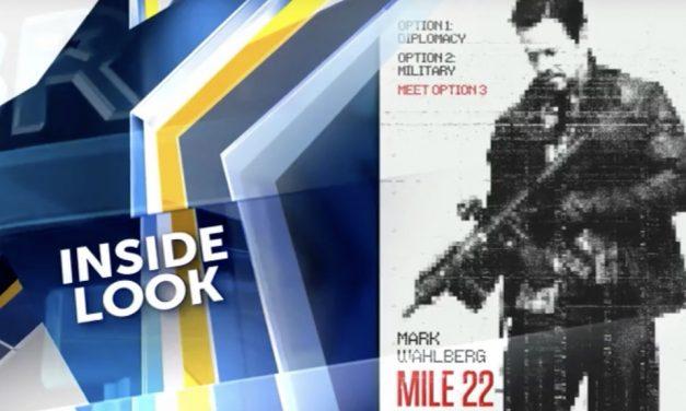 Inside Look at Mark Wahlberg in Mile 22