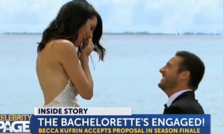 Bachelorette Becca Kufrin's Engagement