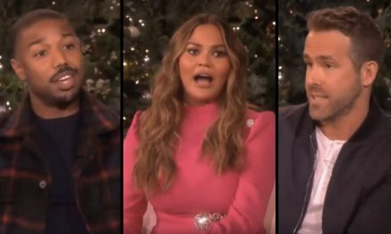 Ryan Reynolds, Chrissy Teigen, and Michael B. Jordan Surprise Ellen