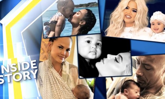 Celebrities with New Babies in 2018