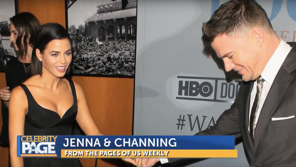 Jenna Dewan and Channing Tatum