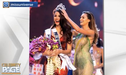 Miss Universe Catriona Gray in Person