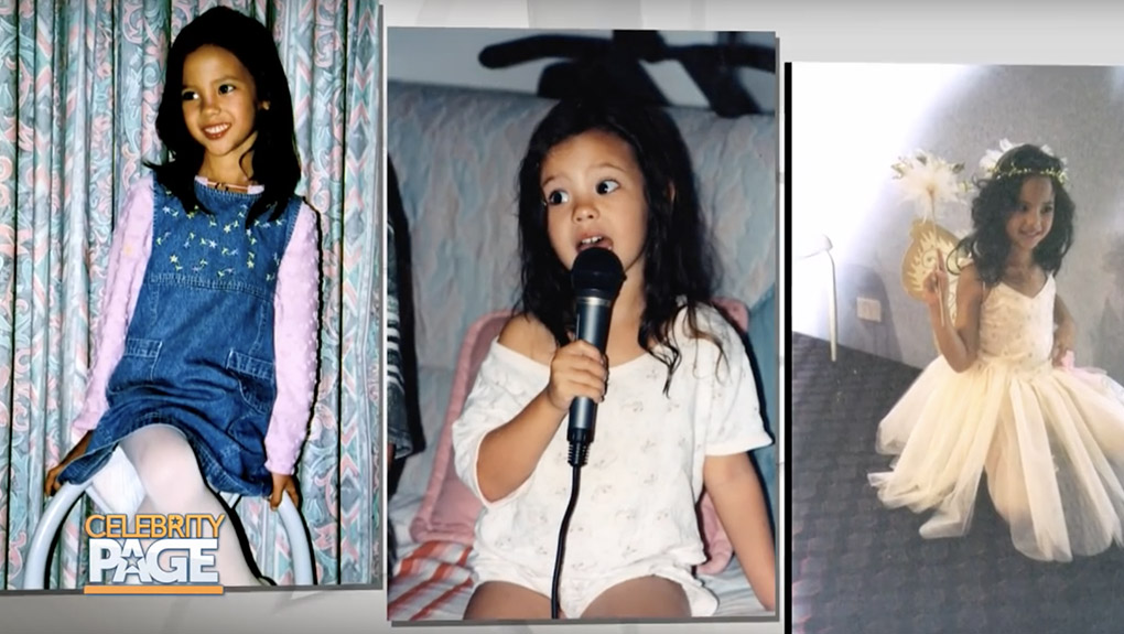 Miss Universe 2018 Winner Catriona Gray as a Child