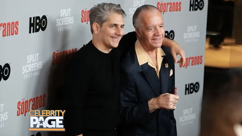 The Sopranos Reunion - Michael Imperioli and Tony Sirico