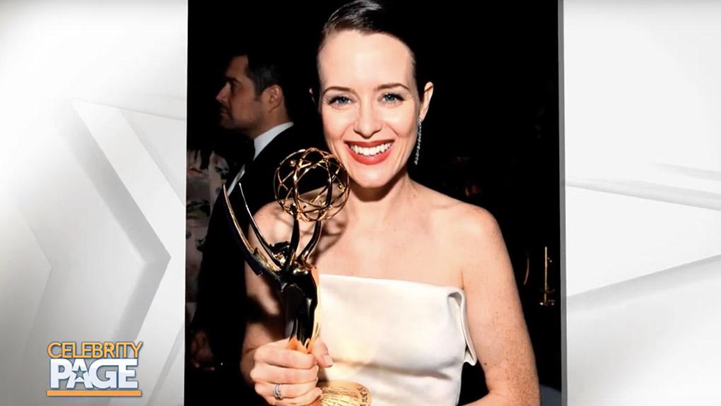 Claire Foy's Emmy Award