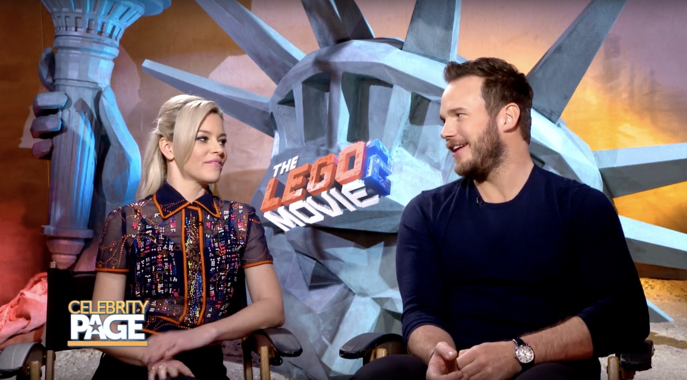 The Lego Movie 2 with Chris Pratt and Elizabeth Banks