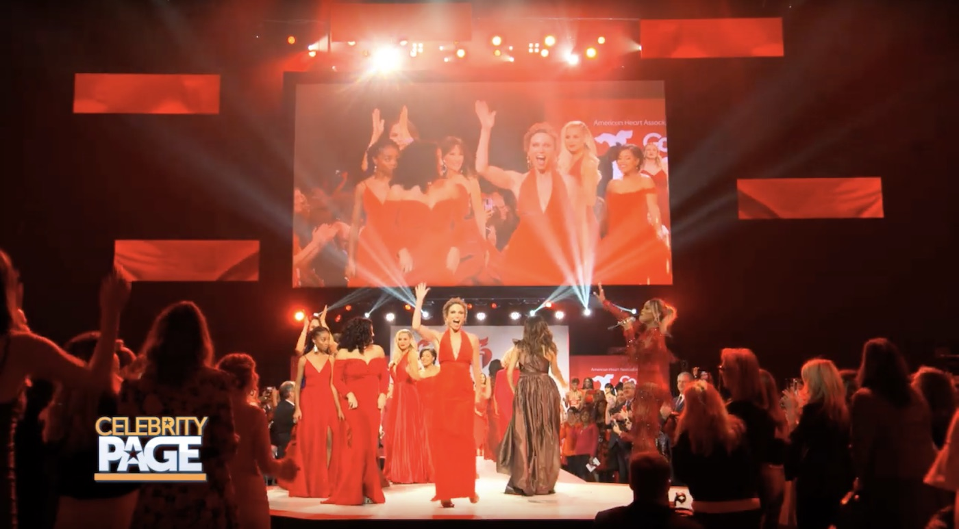 The American Heart Association's Red Dress Fashion Show