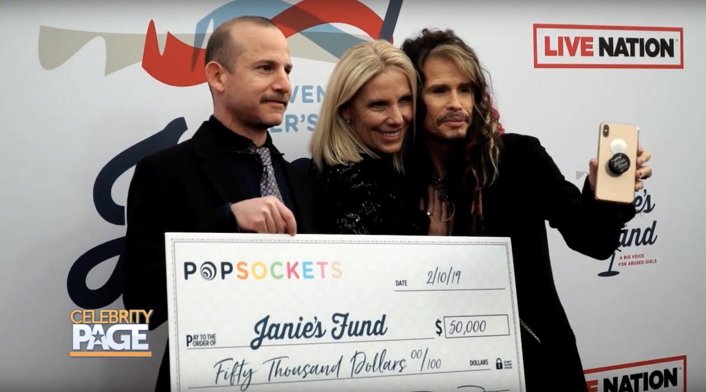 Steven Tyler's Janie' s Fund Event