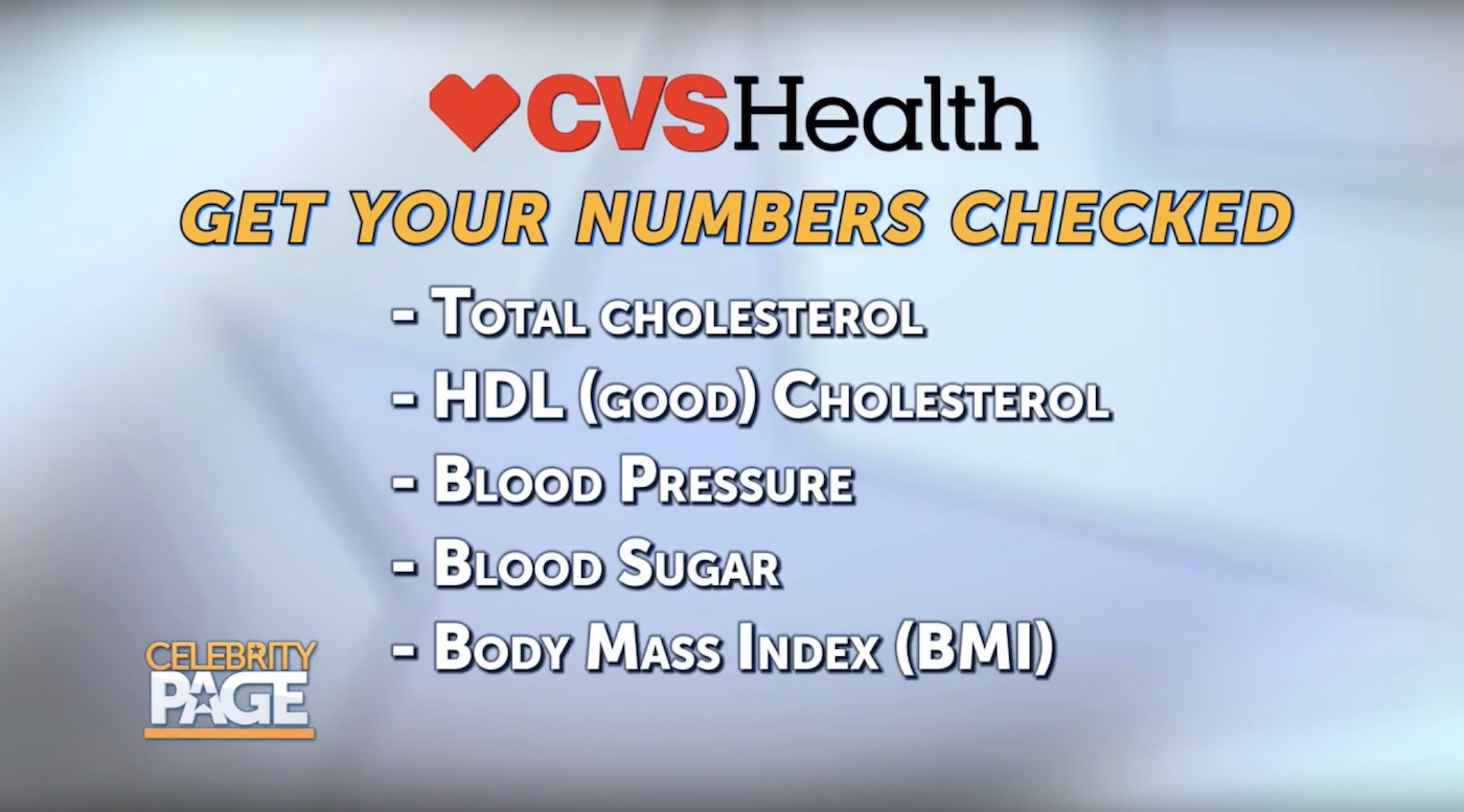CVS Health's Heart Checkup Checklist