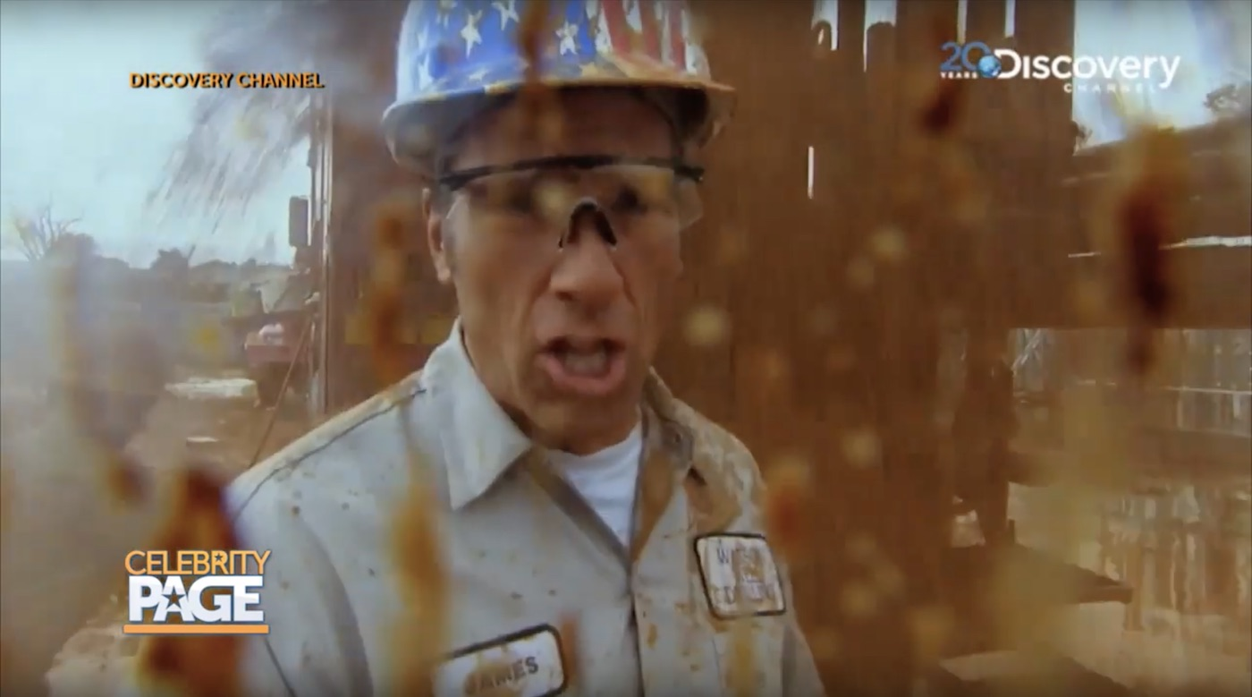 Mike Rowe on Discovery's Dirty Jobs