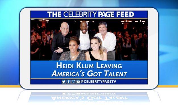 Heidi Klum Is Leaving 'America's Got Talent'