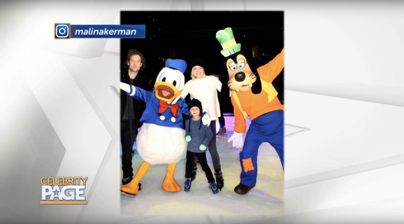 Disney On Ice with Malin Akerman