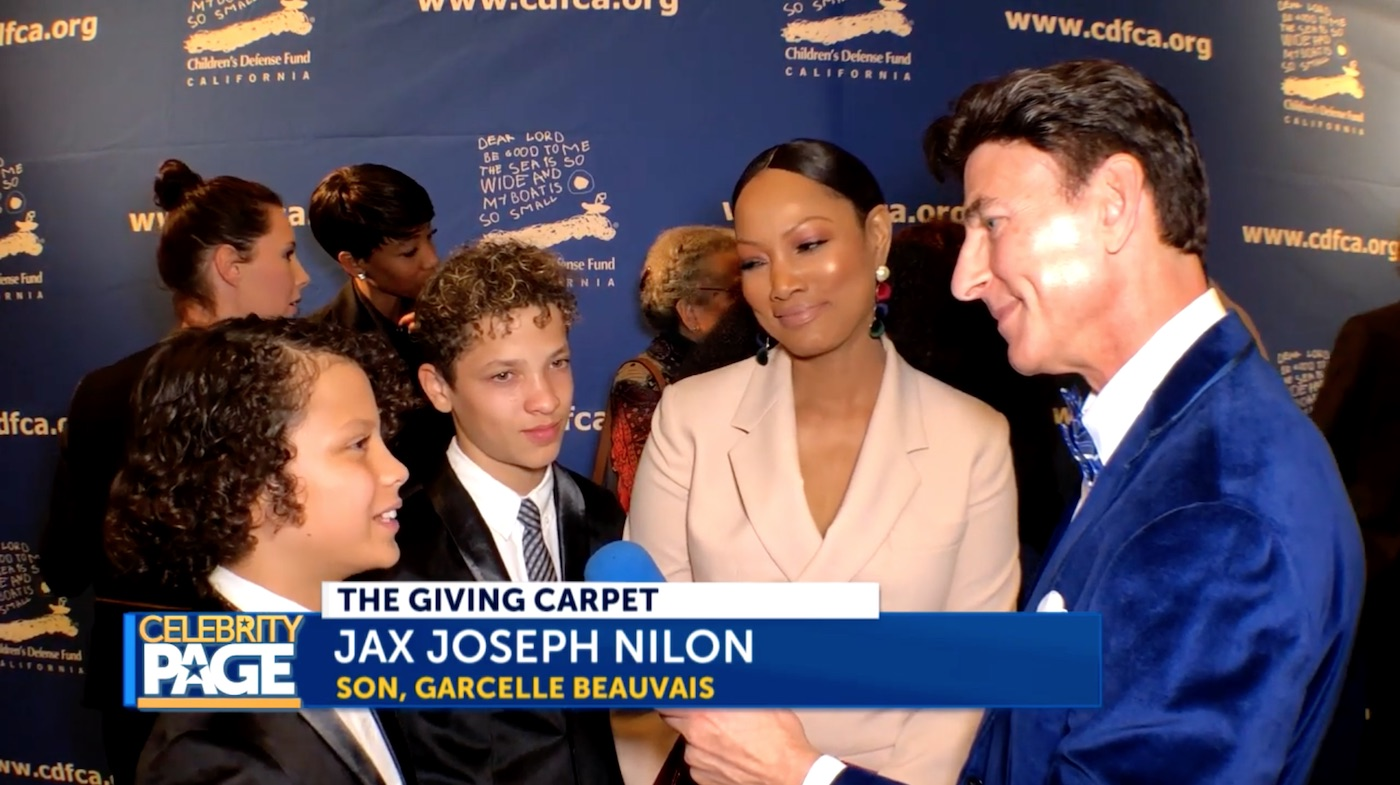 Garcelle Beauvais and her Family