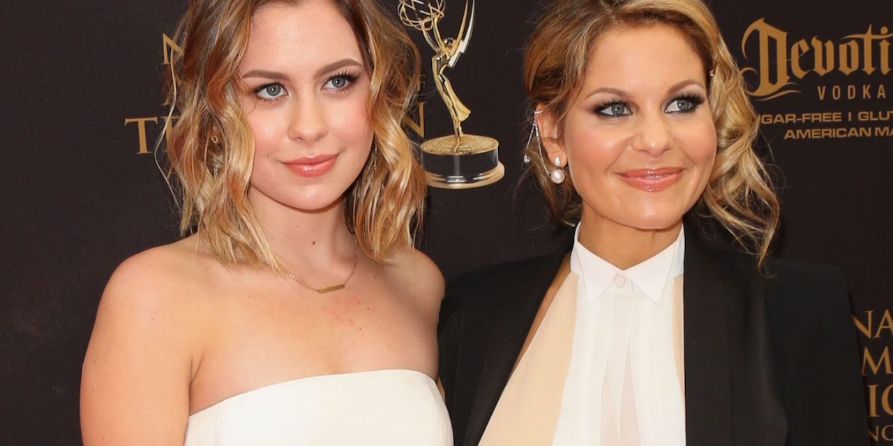 Candace Cameron Bure's Daughter Follows Her Lead