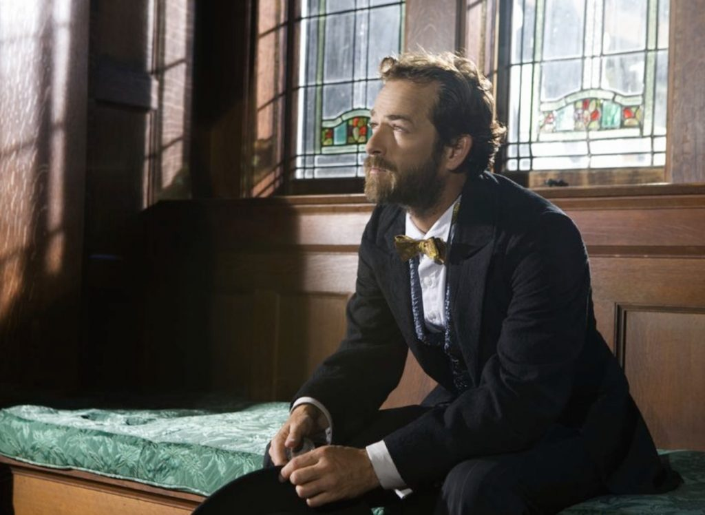 Luke Perry in 'Goodnight for Justice'