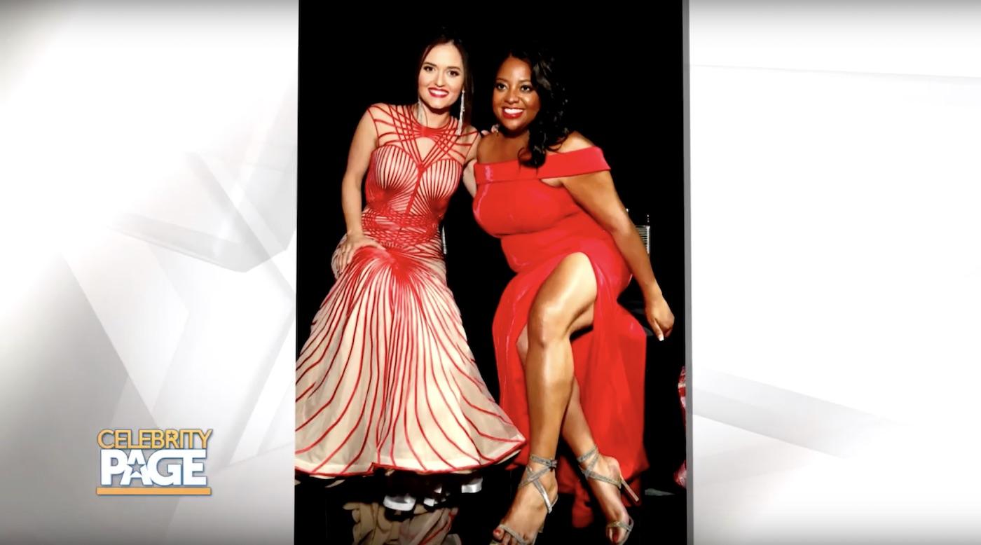 Danica McKellar promotes Go Red for Women
