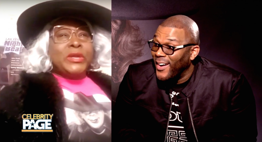 Tyler Perry reacts to a Madea impersonation