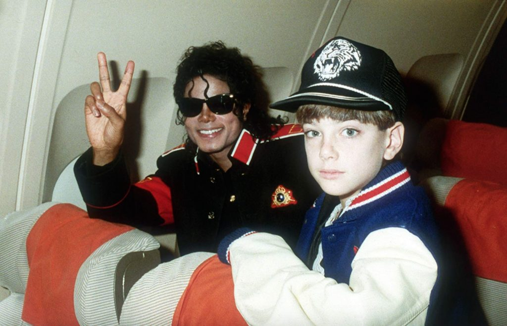 Michael Jackson and Jimmy Safechuck