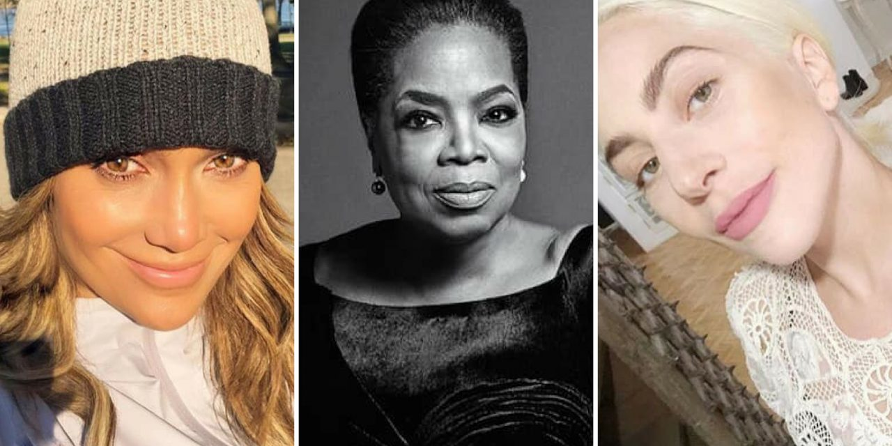 Celebrating #IWD2019 with 10 Female Celebrities Who Founded Charities