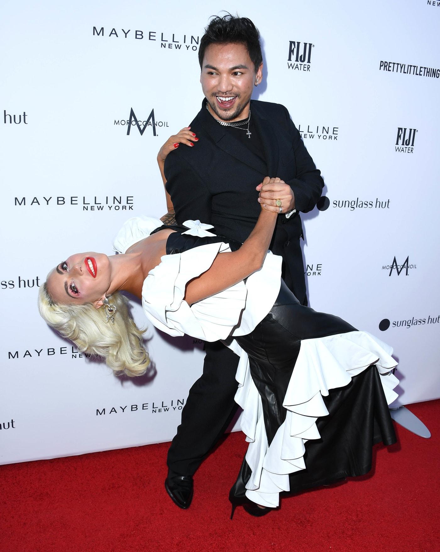 Lady Gaga and Frederic Aspiras