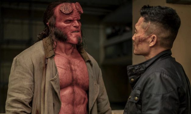 Talking 'Hellboy' With David Harbour