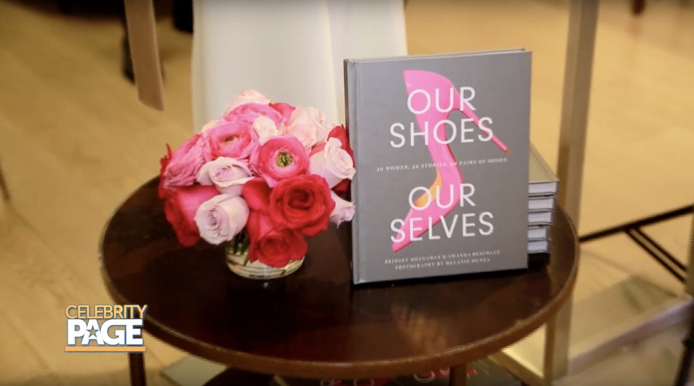 Bridget Moynahan's book, 'Our Shoes, Our Selves'