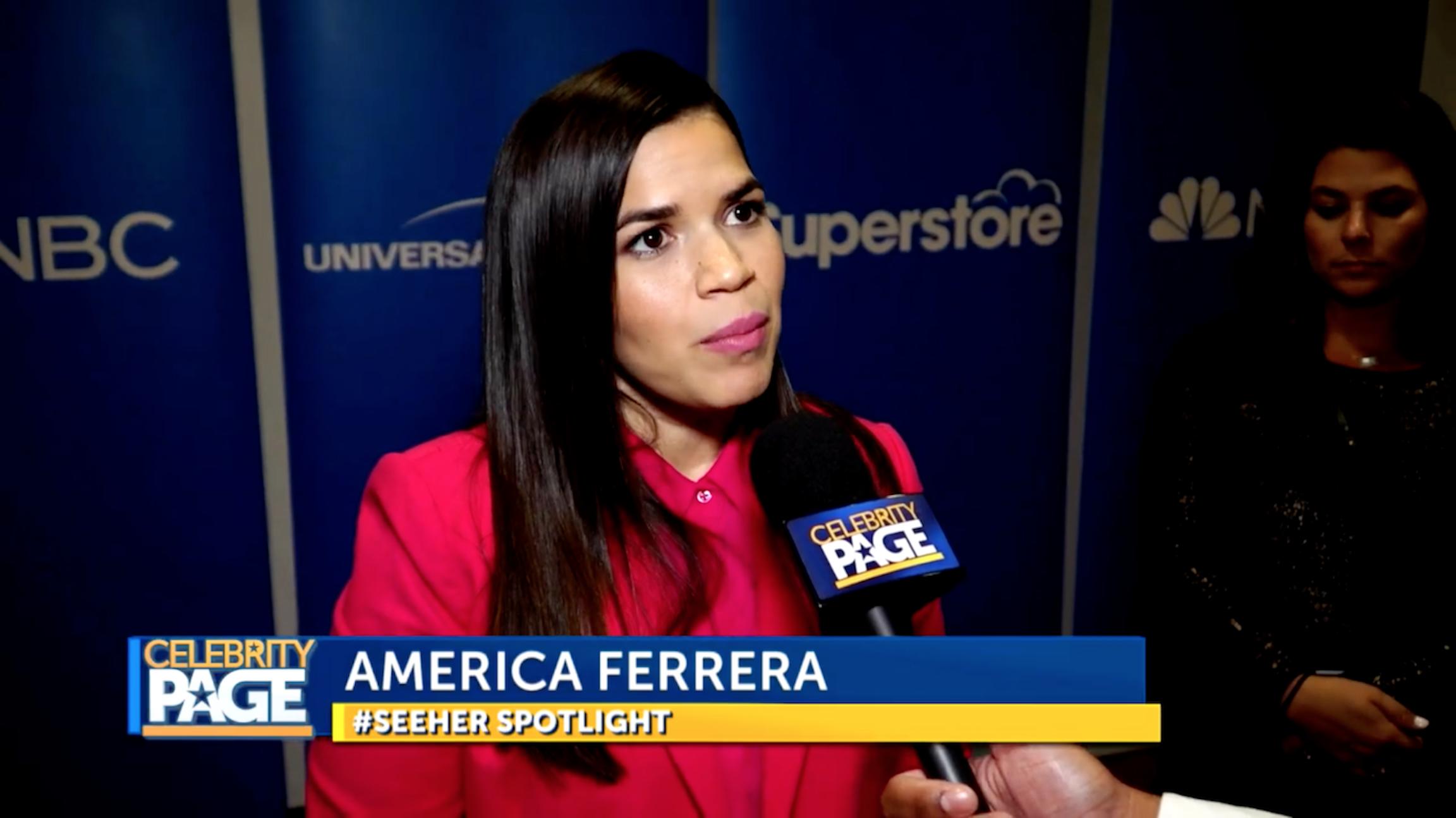 America Ferrera Superstore