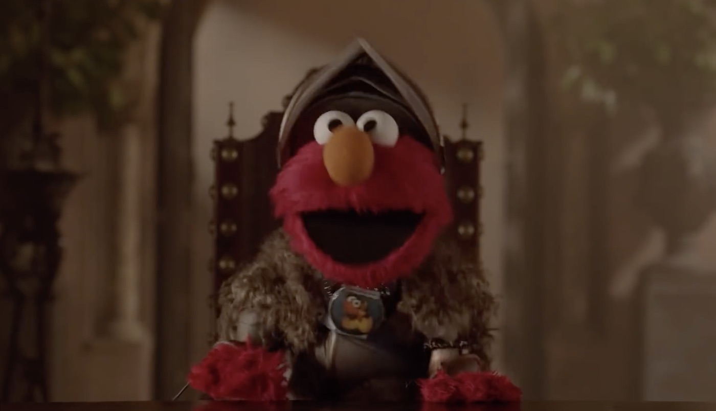Sesame Street's Elmo visits Game of Thrones
