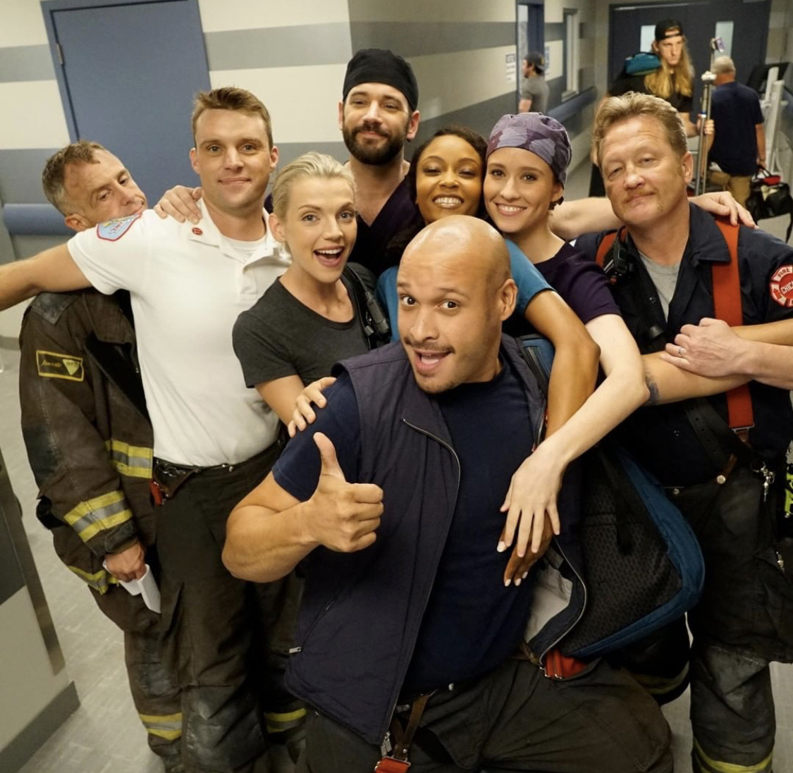 Chicago Fire Chicago Med Are Heating Up Celebrity Page