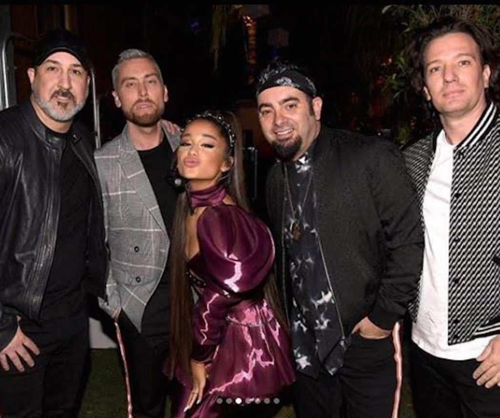 NSYNC and Ariana Grande