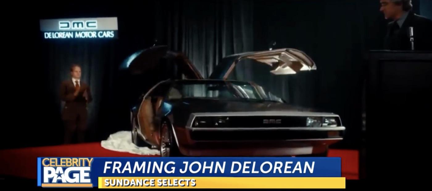 Alec Baldwin in Framing John DeLorean