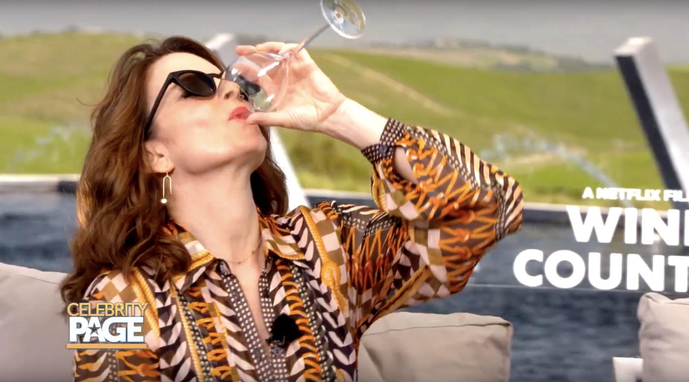 Tina Fey Talks Wine Country