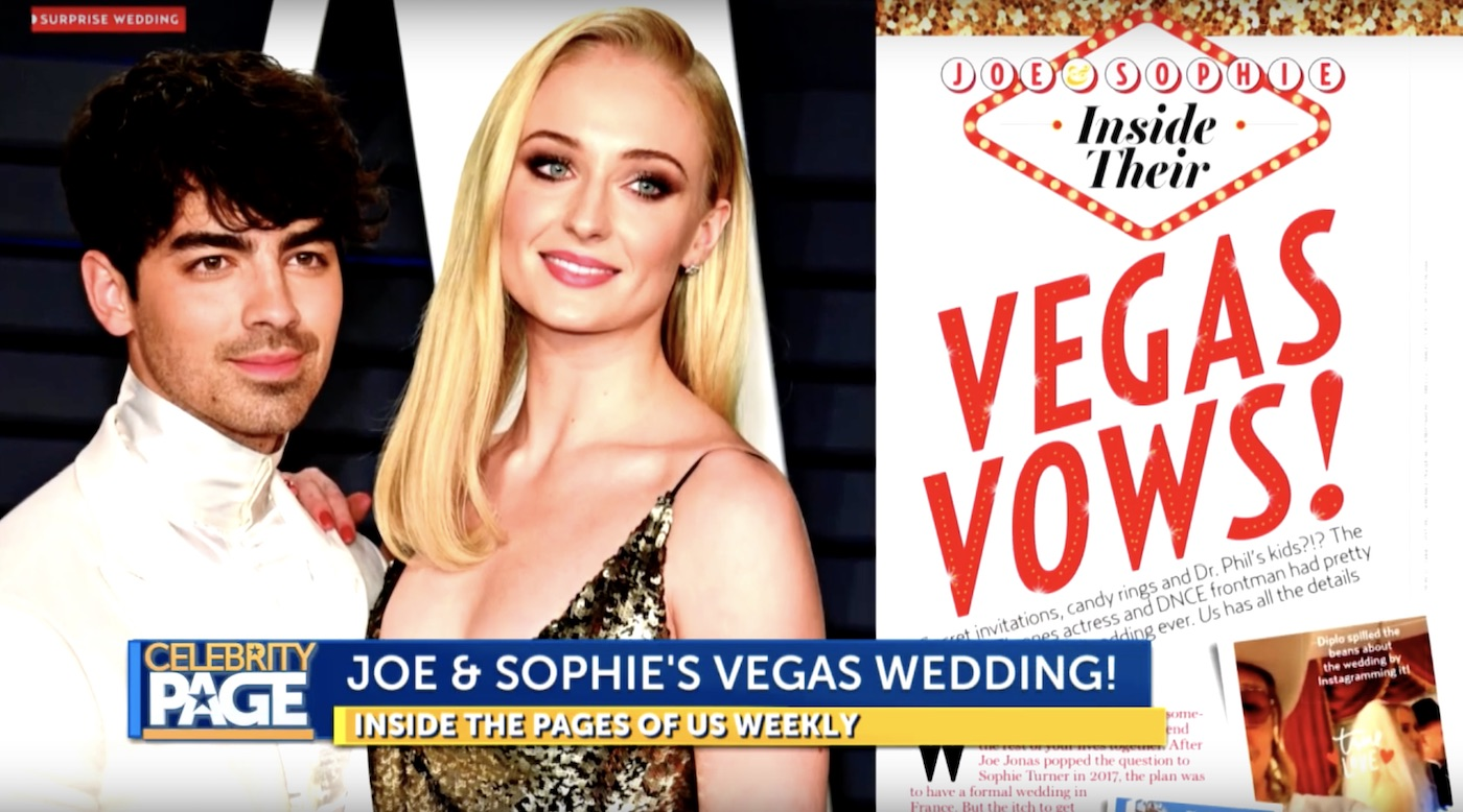 Joe Jonas and Sophie Turner's Las Vegas Wedding