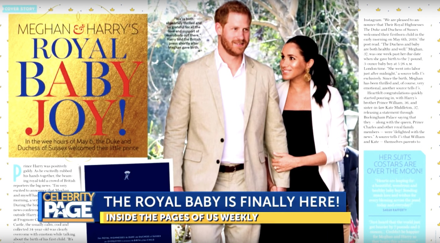 Prince Harry and Meghan Markle's Baby -- Archie
