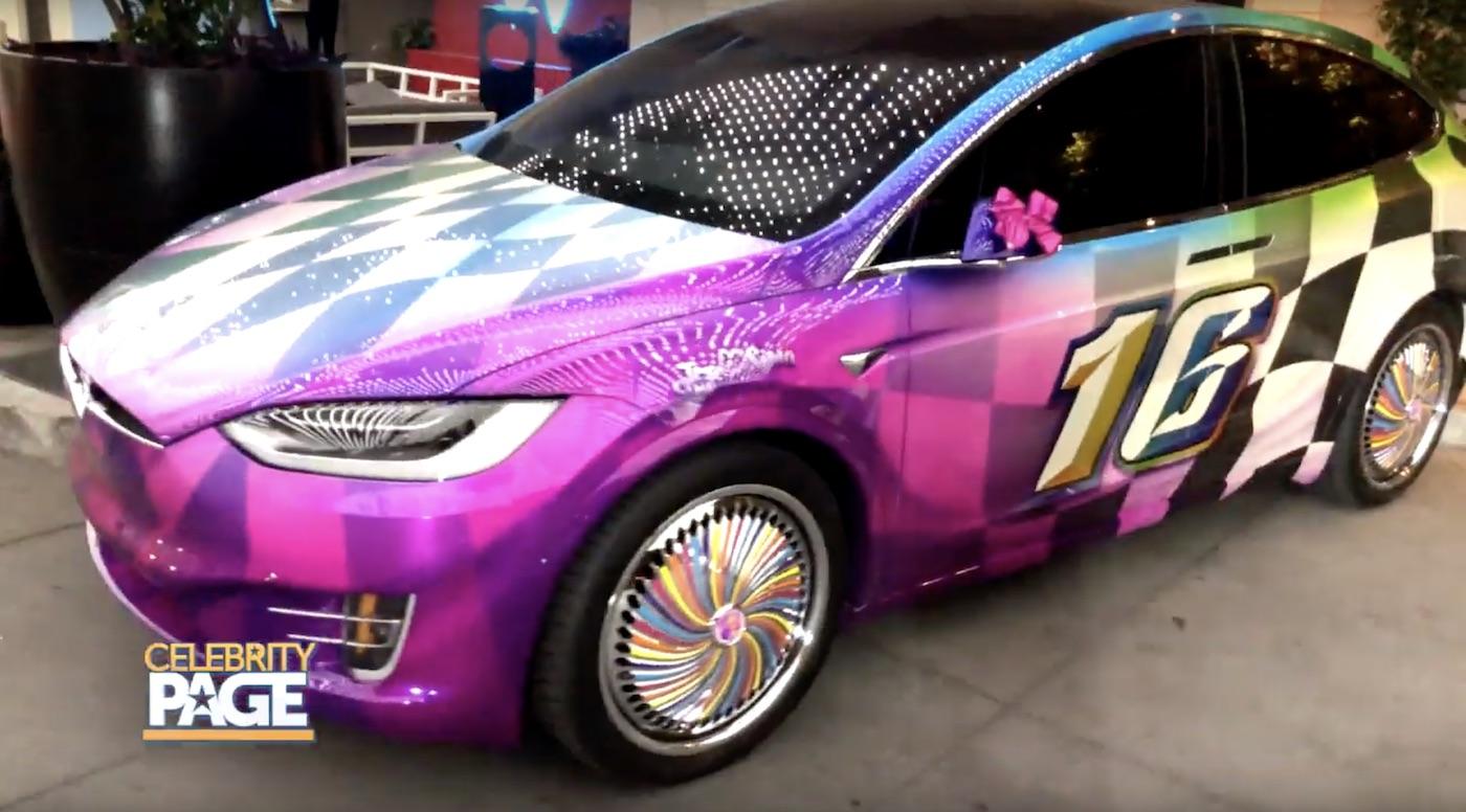 Jojo Siwa's Car