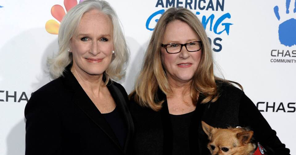 Glenn Close and sister