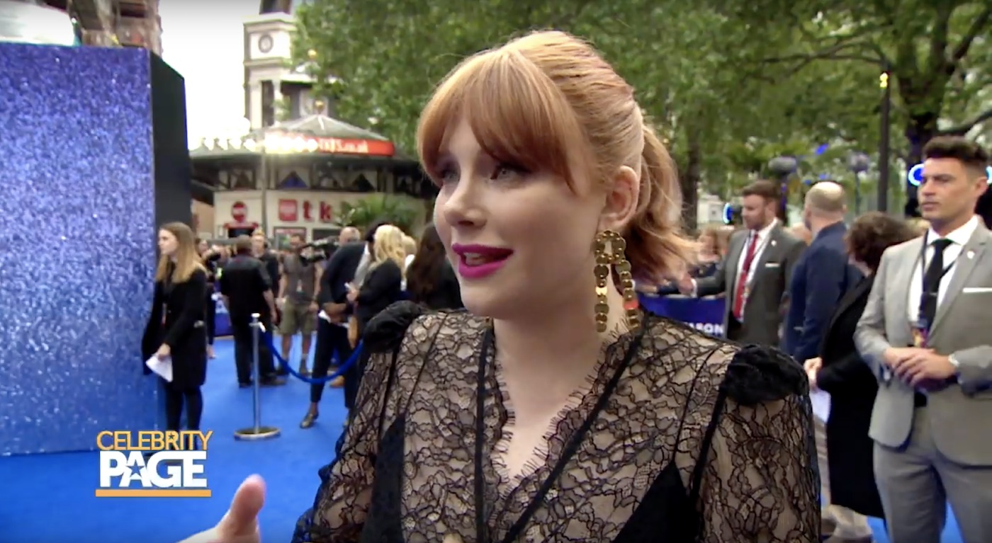 Bryce Dallas Howard at Rocketman's Premiere